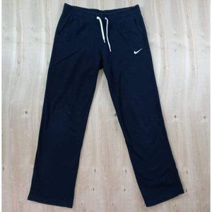 NIKE Mens Sweatpants Pajamas Super Soft Black Size